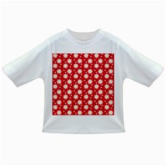 Daisy Dots Red Infant/toddler T Shirts