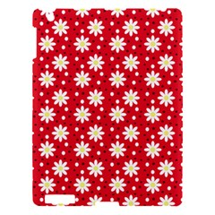 Daisy Dots Red Apple Ipad 3/4 Hardshell Case