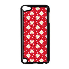 Daisy Dots Red Apple Ipod Touch 5 Case (black)
