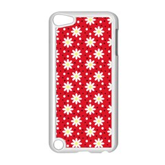 Daisy Dots Red Apple Ipod Touch 5 Case (white)