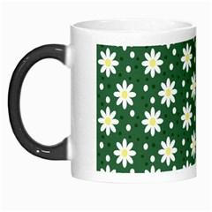 Daisy Dots Green Morph Mugs