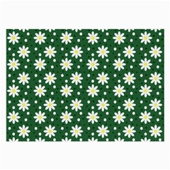 Daisy Dots Green Large Glasses Cloth (2 Side)