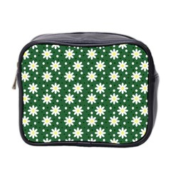 Daisy Dots Green Mini Toiletries Bag 2 Side