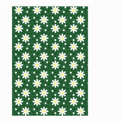 Daisy Dots Green Small Garden Flag (two Sides)