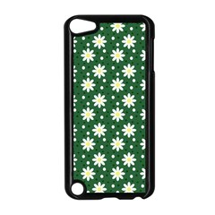 Daisy Dots Green Apple Ipod Touch 5 Case (black)