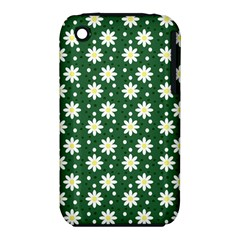 Daisy Dots Green Iphone 3s/3gs