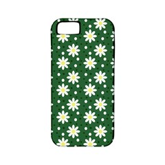 Daisy Dots Green Apple Iphone 5 Classic Hardshell Case (pc+silicone)