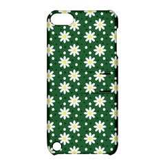 Daisy Dots Green Apple Ipod Touch 5 Hardshell Case With Stand