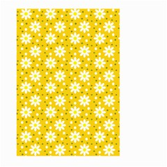 Daisy Dots Yellow Large Garden Flag (two Sides)