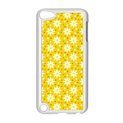 Daisy Dots Yellow Apple Ipod Touch 5 Case (white)