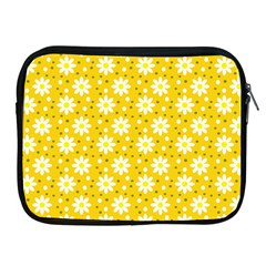 Daisy Dots Yellow Apple Ipad 2/3/4 Zipper Cases