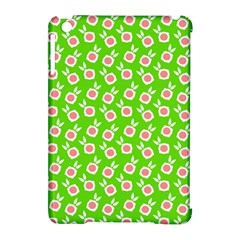 Square Flowers Green Apple Ipad Mini Hardshell Case (compatible With Smart Cover)