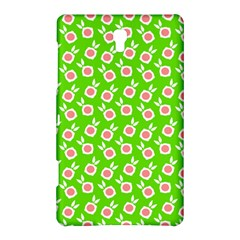 Square Flowers Green Samsung Galaxy Tab S (8 4 ) Hardshell Case