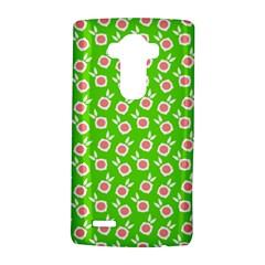 Square Flowers Green Lg G4 Hardshell Case