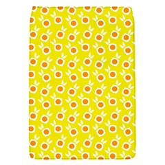 Square Flowers Yellow Flap Covers (s)