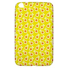 Square Flowers Yellow Samsung Galaxy Tab 3 (8 ) T3100 Hardshell Case