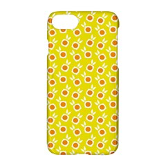 Square Flowers Yellow Apple Iphone 7 Hardshell Case