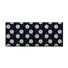 Daisy Dots Navy Blue Cosmetic Storage Cases