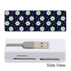 Daisy Dots Navy Blue Memory Card Reader (stick)