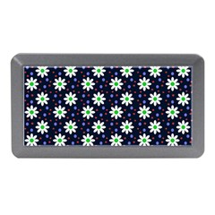 Daisy Dots Navy Blue Memory Card Reader (mini)