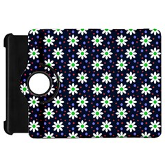 Daisy Dots Navy Blue Kindle Fire Hd 7