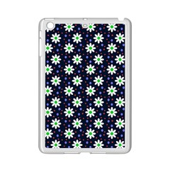 Daisy Dots Navy Blue Ipad Mini 2 Enamel Coated Cases