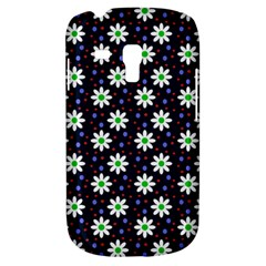 Daisy Dots Navy Blue Galaxy S3 Mini