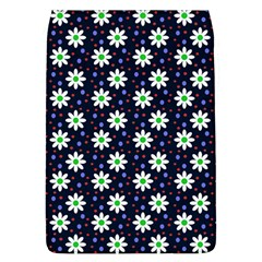 Daisy Dots Navy Blue Flap Covers (l)