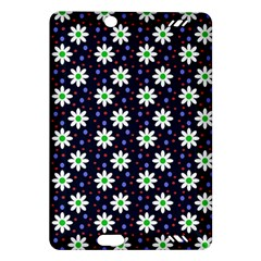 Daisy Dots Navy Blue Amazon Kindle Fire Hd (2013) Hardshell Case