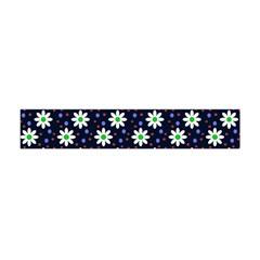 Daisy Dots Navy Blue Flano Scarf (mini)