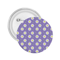 Daisy Dots Violet 2 25  Buttons