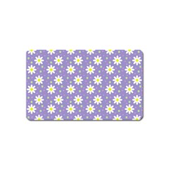 Daisy Dots Violet Magnet (name Card)