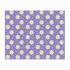 Daisy Dots Violet Small Glasses Cloth (2 Side)