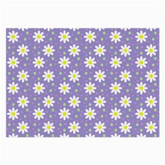 Daisy Dots Violet Large Glasses Cloth