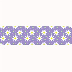Daisy Dots Violet Large Bar Mats