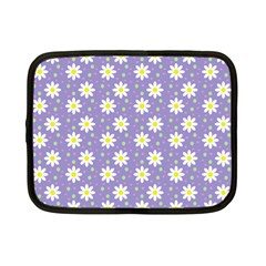 Daisy Dots Violet Netbook Case (small)