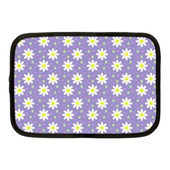 Daisy Dots Violet Netbook Case (medium)