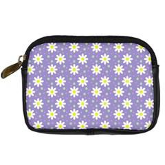 Daisy Dots Violet Digital Camera Cases