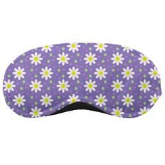 Daisy Dots Violet Sleeping Masks
