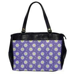 Daisy Dots Violet Office Handbags