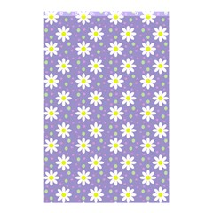 Daisy Dots Violet Shower Curtain 48  X 72  (small)