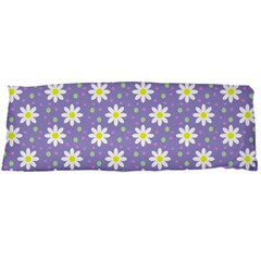 Daisy Dots Violet Body Pillow Case (dakimakura)