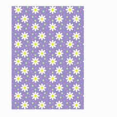 Daisy Dots Violet Large Garden Flag (two Sides)