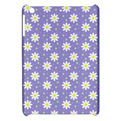 Daisy Dots Violet Apple Ipad Mini Hardshell Case
