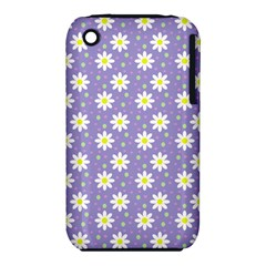 Daisy Dots Violet Iphone 3s/3gs