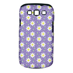 Daisy Dots Violet Samsung Galaxy S Iii Classic Hardshell Case (pc+silicone)