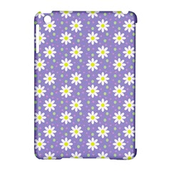 Daisy Dots Violet Apple Ipad Mini Hardshell Case (compatible With Smart Cover)