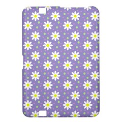Daisy Dots Violet Kindle Fire Hd 8 9