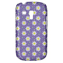Daisy Dots Violet Galaxy S3 Mini