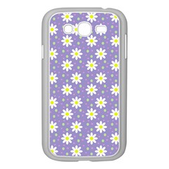 Daisy Dots Violet Samsung Galaxy Grand Duos I9082 Case (white)